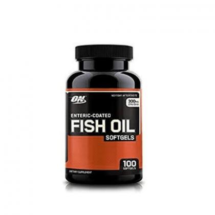 Optimum Nutrition Fish Oil 100 Softgels