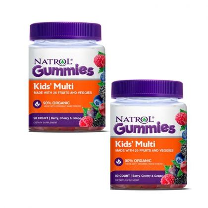 Natrol Gummies Kids Multi 90cp-x2