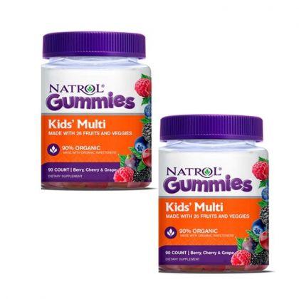 Natrol Gummies Kids Multi 90cp-x2
