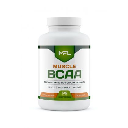 muscle bcaa 120cp