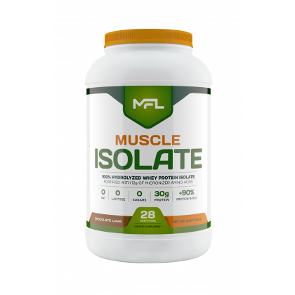 Muscle Food Labs Muscle Isolate 2lbs