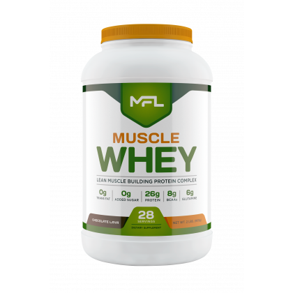 muscle whey protein 2lb