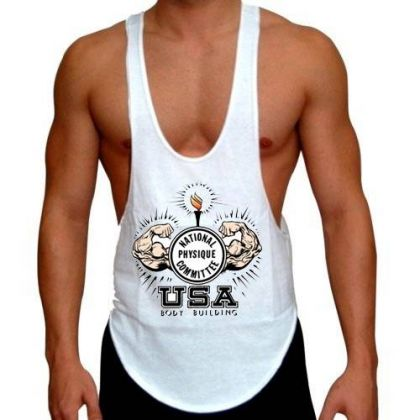 NPC Gym Wear Stringer Singlet