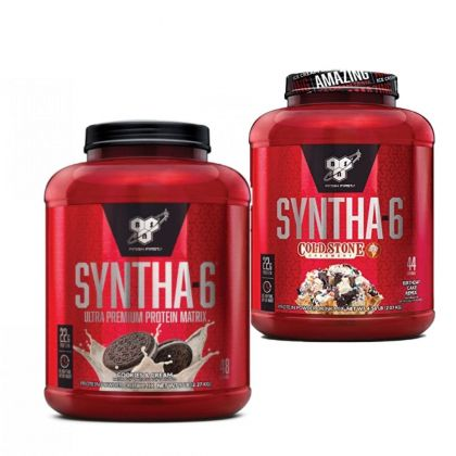 Syntha-6 5lb + Syntha-6 5 lb Coldstone Creamery Dated 11/20