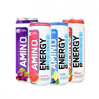 ON Nutrition Amino Energy + Electrolytes Sparkling Rtd Box 12