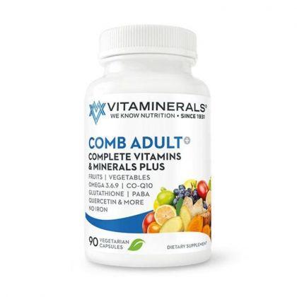 Vitaminerals CombAdult+ Multiple Vitamin & Mineral Formula 90cp