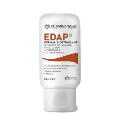 Vitaminerals Edap+ Dermal Biostimulant Cream 2.5oz