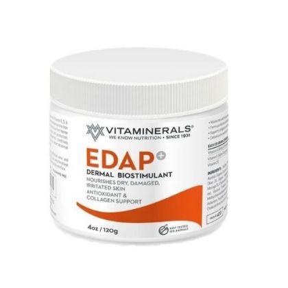 Vitaminerals Edap+ Dermal Biostimulant Cream 4oz