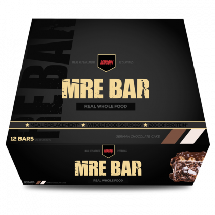 Redcon MRE Bar - Meal Replacement Bar ( 1 box/ 12 pk )
