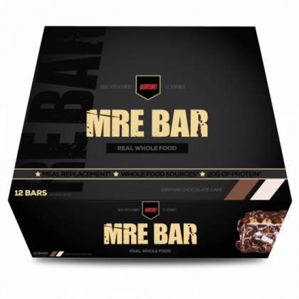 MRE Meal Replacement Bars 12pk DATED