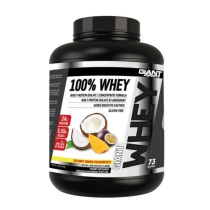 GIANT 100% WHEY PROTEIN 5LB BBY