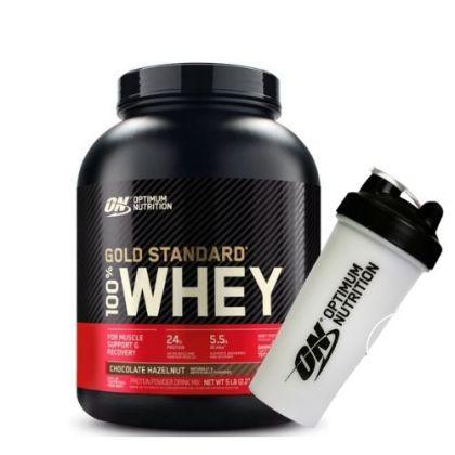 Gold Standard Whey 5lb + FREE Shaker