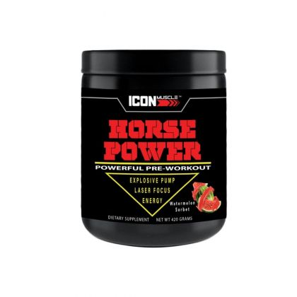 Icon Muscle Horse Power Pre Workout