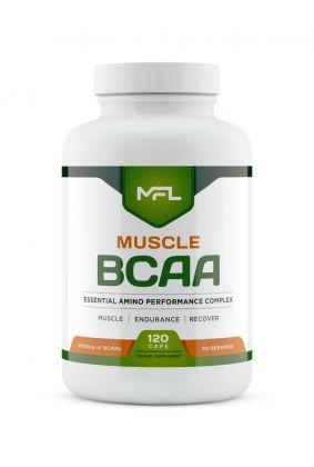 muscle bcaa 120cp