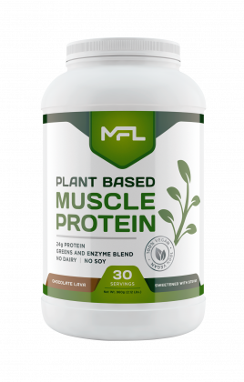 plant based muscle protein vegan 2lb