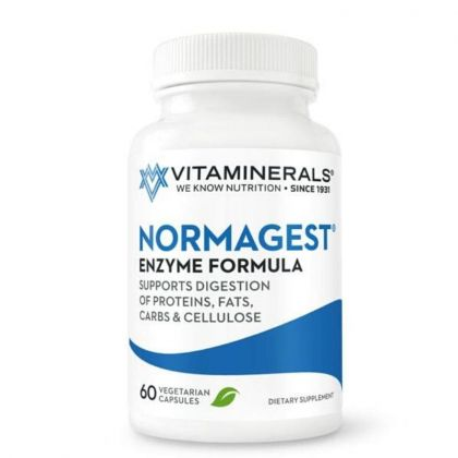 Vitaminerals Normagest GI Support Standardized Enzyme Formula