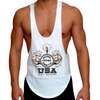 NPC Gym Wear Stringer Singlet