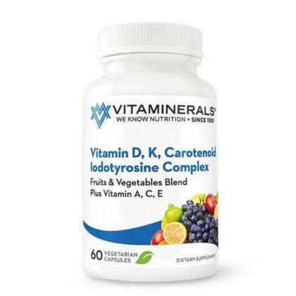 Vitaminerals Vitamin D + K Complex Carotenoid Immune Support