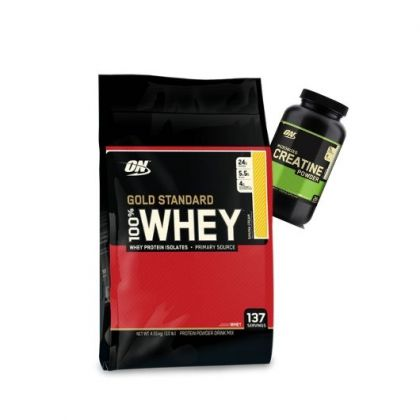 Gold Standard Whey Protein Powder 10lb