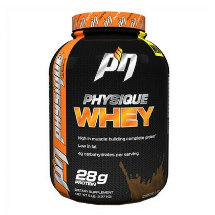Physique Nutrition Whey Protein 5lb