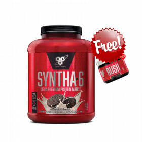 Syntha-6 5lb + Endo Rush 5 serve